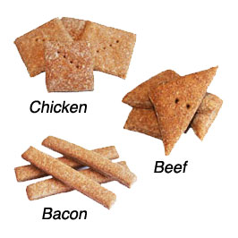 Basic Dog Treats | Chicken, Beef or Bacon